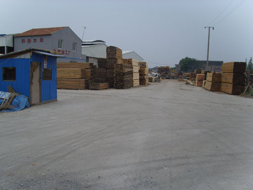 苏州木材加工厂图片