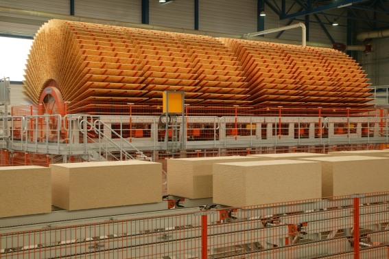 在欧洲的生产工厂大图片