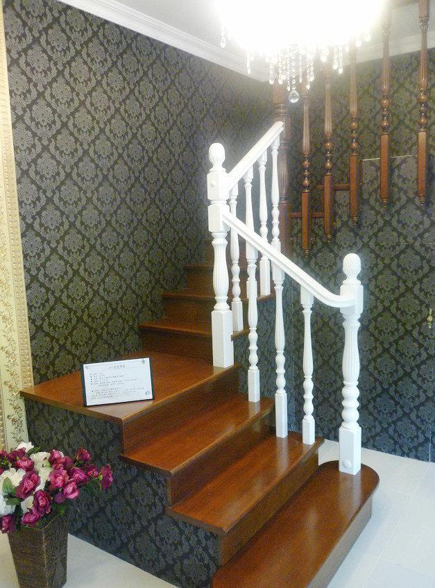 上海宏星楼梯 欧式别墅楼梯