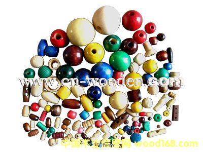 染色木珠,包花木珠,无孔、半孔木珠,烫印木珠的详细介绍