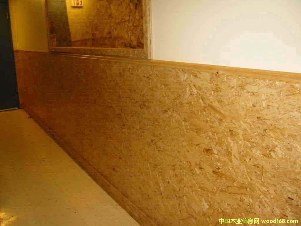 定向刨花板(木制别墅楼板、墙板)