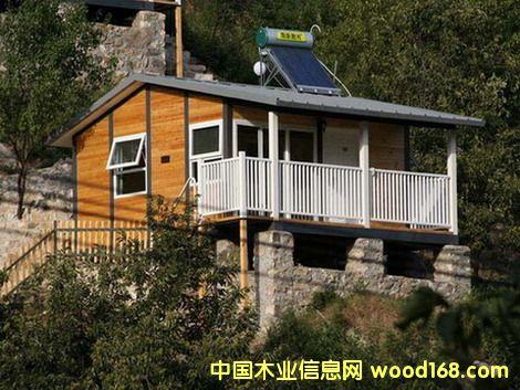 钢木结构度假村木屋(活动房)