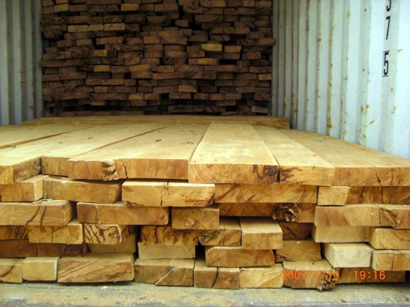 橡胶木板材