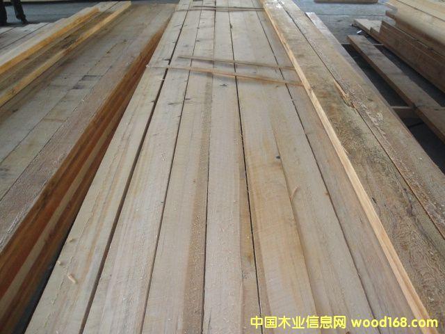铁杉加工级板材方木