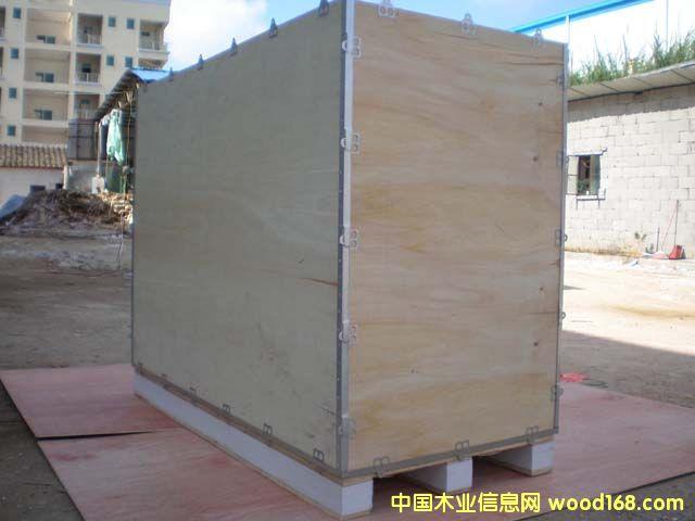钢带结构木箱