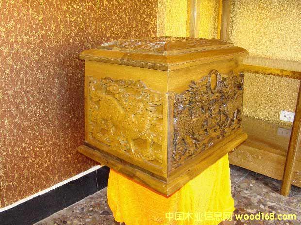 金丝楠木骨灰盒-中国木业信息网产品展示中心