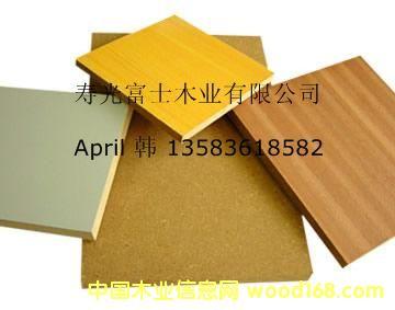 密度板MDF/三聚氰胺纸贴面密度板