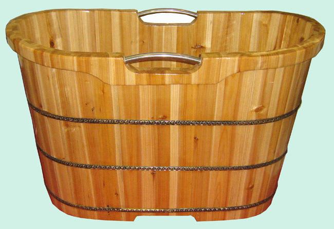 天然香柏木 坐式浴桶