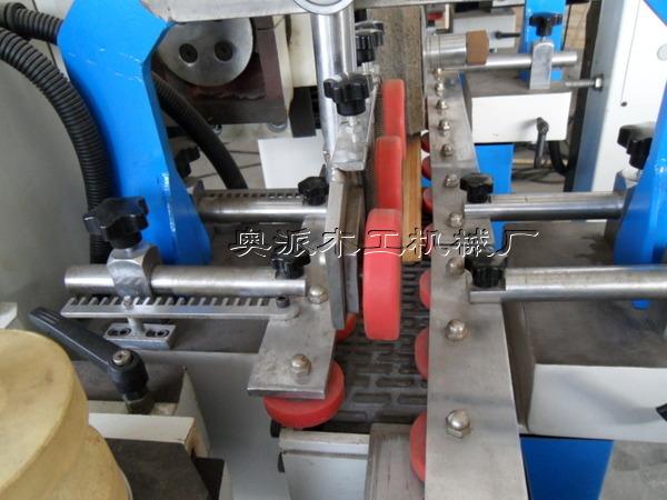 木工机械多头异形线条砂光机