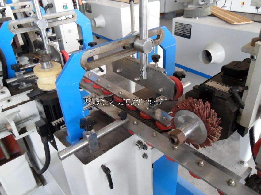木工机械多头异型木线砂光机