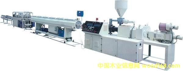 PVC双管材生产线