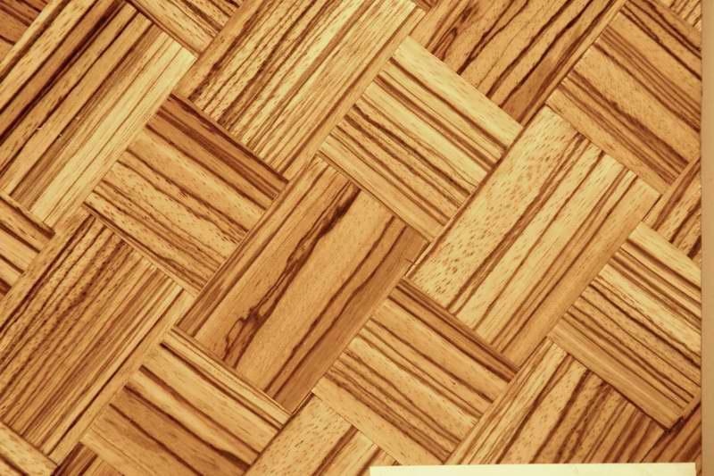 拼花编织板