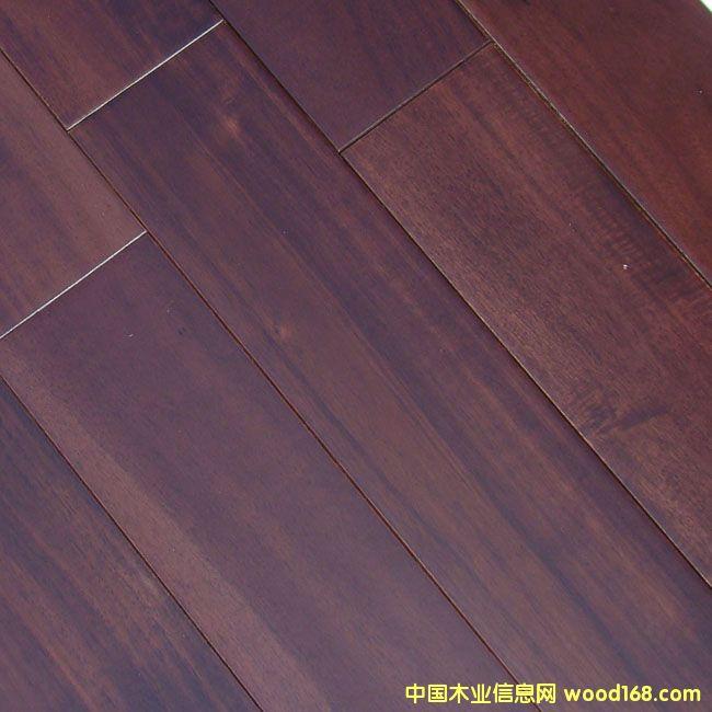非洲胡桃实木地板2
