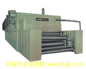BG18系列喷气式网带单板干燥机