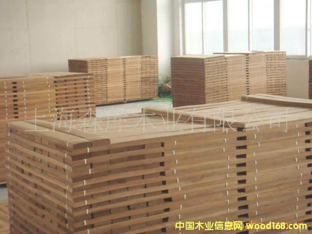 缅甸柚木地板木皮