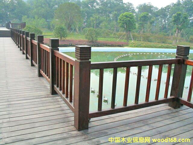 防腐木材-栅栏