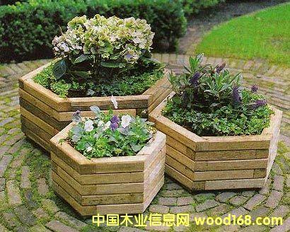 防腐木制品-花坛