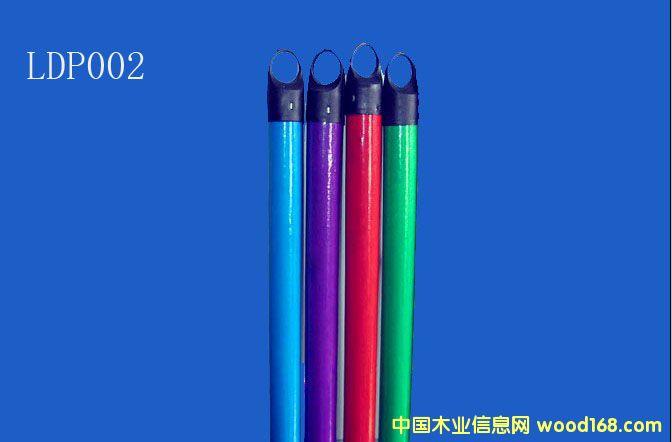 PVC包塑木扫把柄(LDP002)