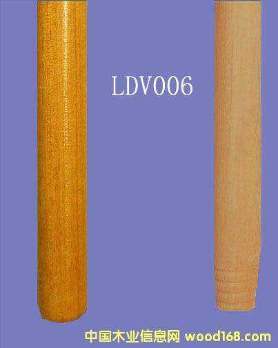 油漆桉木扫把柄(LDV006)