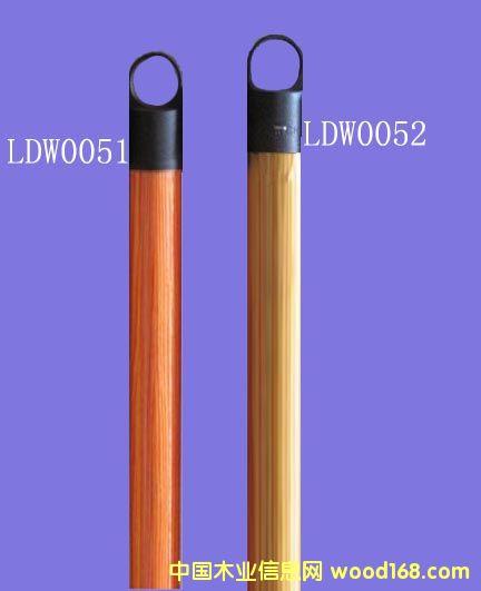 木纹PVC包塑桉木扫把柄(LDW005)