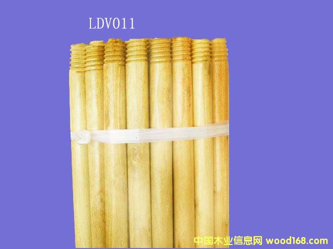 油漆桉木扫把柄(LDV011)