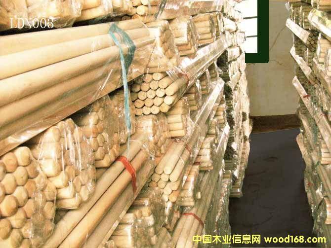 光杆桉木扫把柄(LDN003)