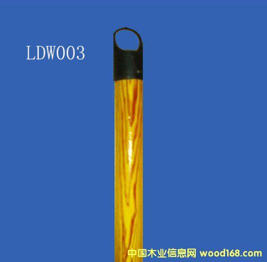 木纹PVC包塑桉木扫把柄(LDW003)