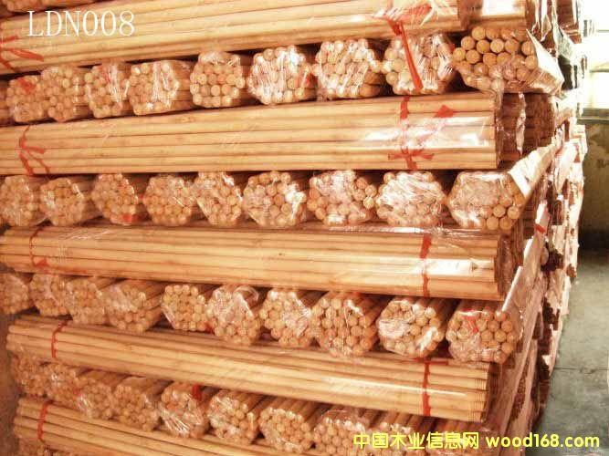 光杆桉木扫把柄(LDN008)