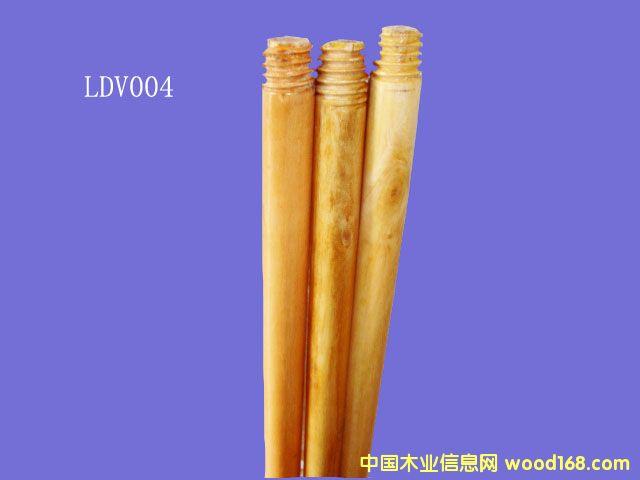 油漆桉木扫把柄(LDV004)