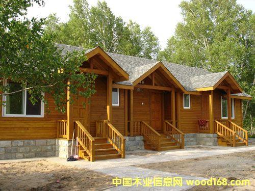 木屋别墅构架设计图纸