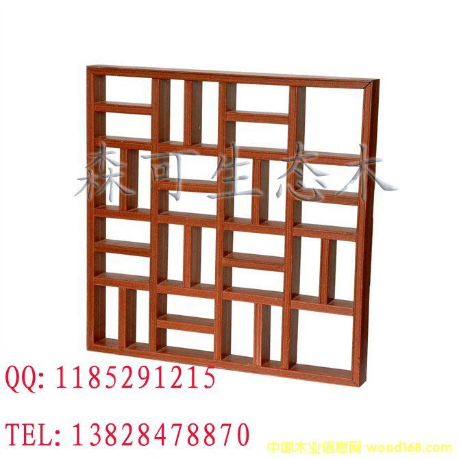 方木格栅5,绿可木生态木环保节能木塑
