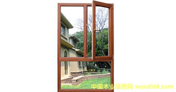铝木复合-内平开窗