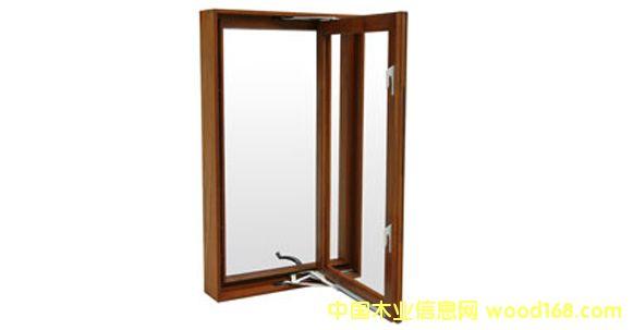 纯木窗-纯木外开窗