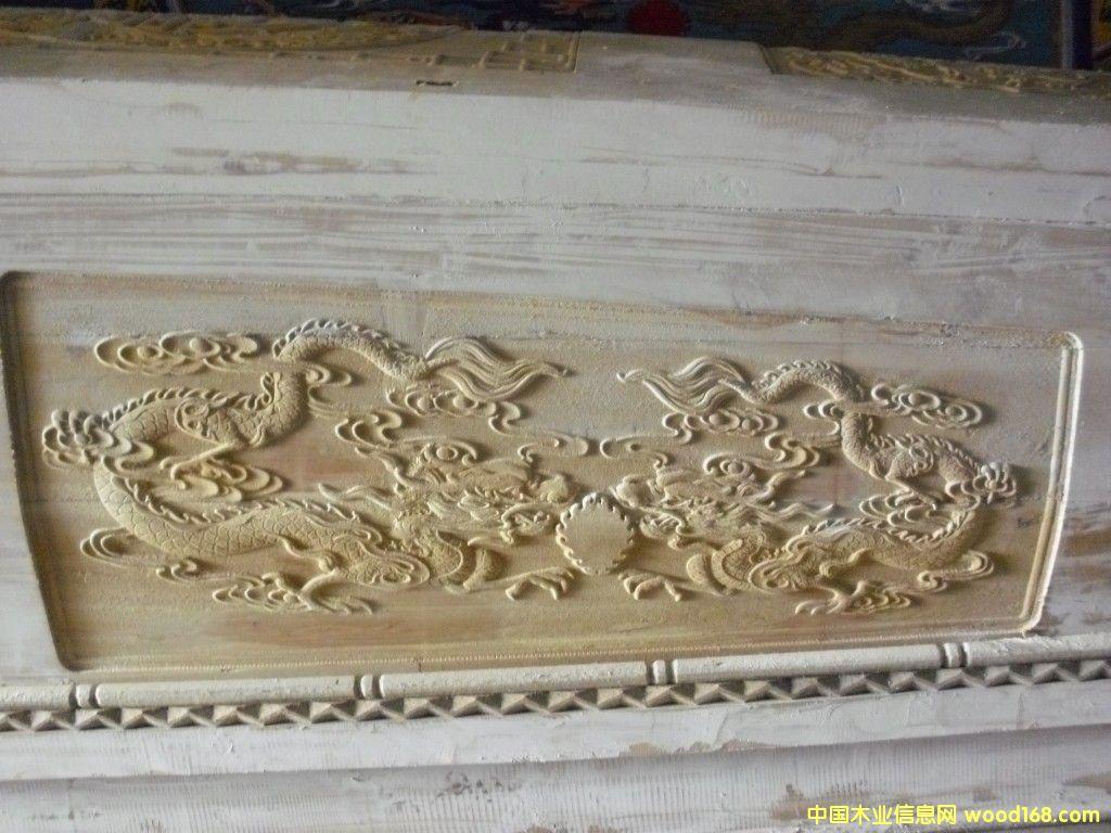 柏木棺材雕花