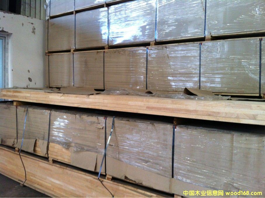 橡胶木集成材
