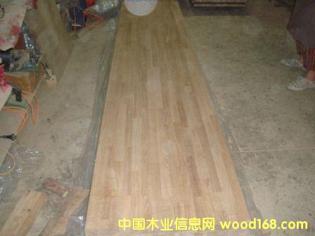 柞木集成材