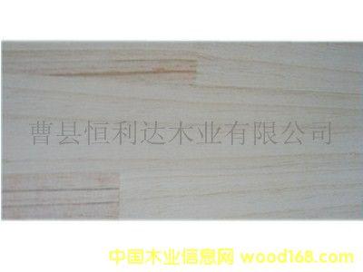 辐射松板材拼板