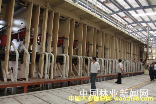 8英尺连续压机工段