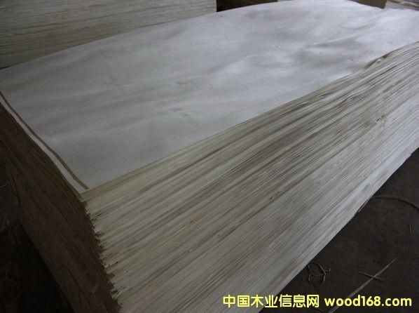 漂白杨木单板