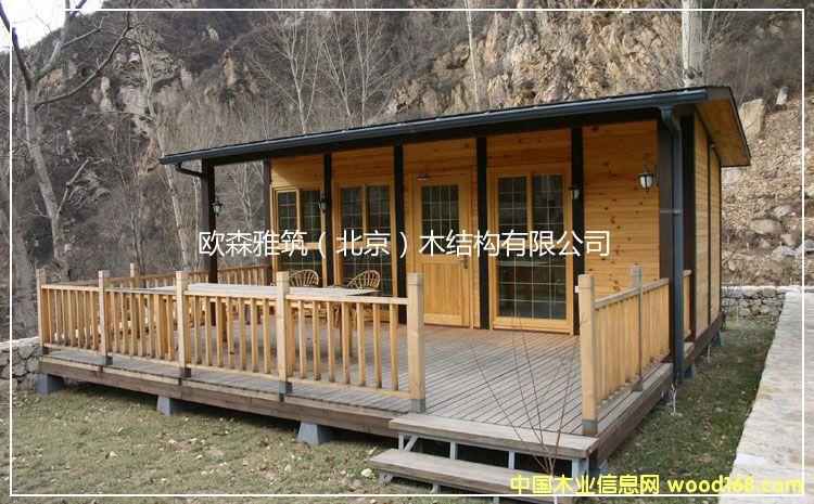小木屋木结构海边木屋的详细介绍