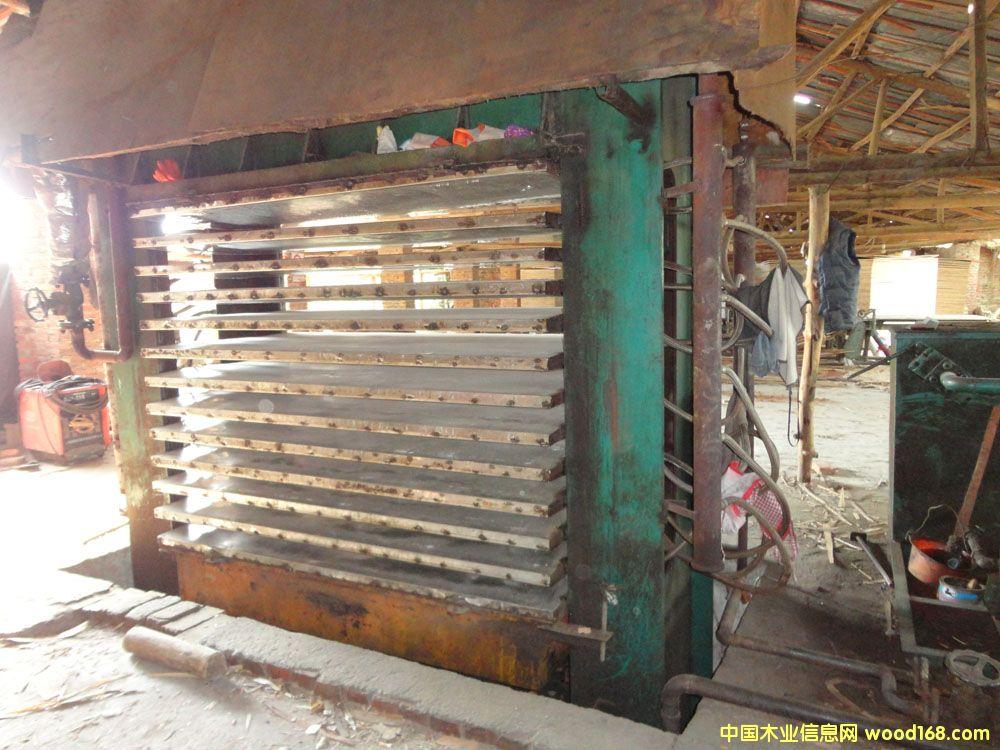 木模板生产线