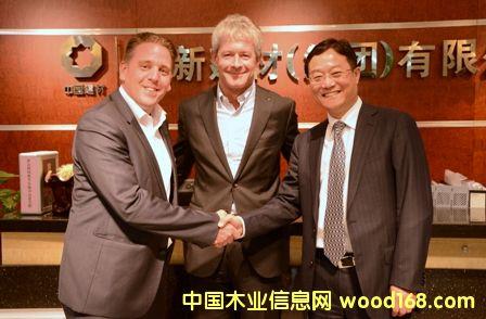 德国EGGER公司代表团来访北新集团