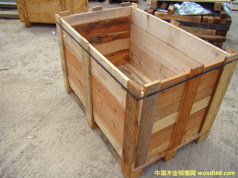 二手实木板箱