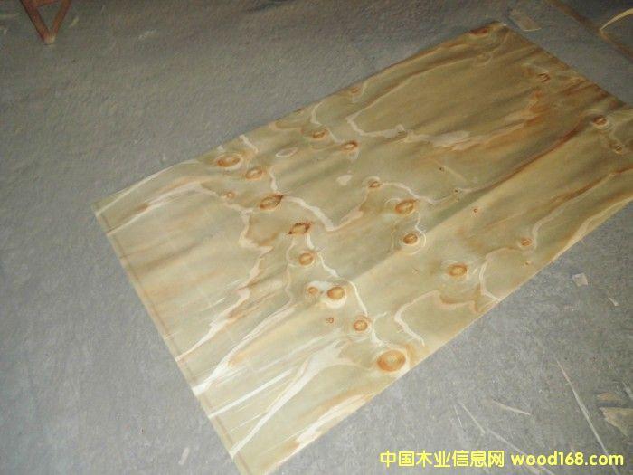 辐射松面皮(建筑模板面皮)