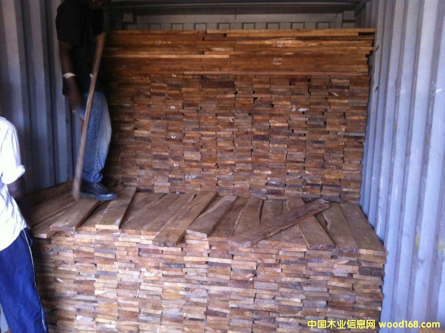缅茄木地板坯料