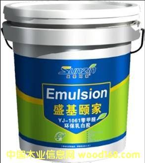 YJ-163型零甲醛环保乳白胶(帖薄木皮)