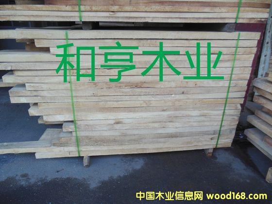 A级5.5CM橡胶木自然板