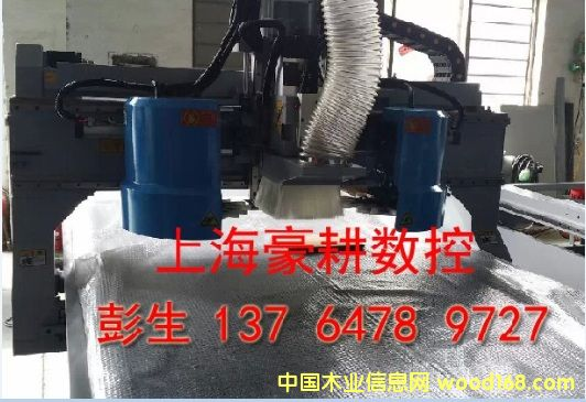 NC-T2513双刀库橱柜门板雕刻机