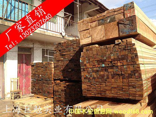 防腐铁杉刨光材