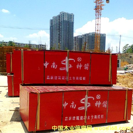 覆膜竹胶板 工程施工专用板材 国内知名品牌